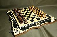 """Шахматный набор ручной работы """"Game Over"""""""