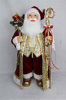 Новогодний дед мороз 60 см / санта клаус