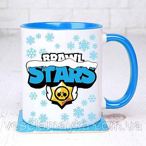Чашка Brawl stars (Новогодний)