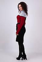 Теплое  уютное платье  Размер универсальный 42-48, фото 3
