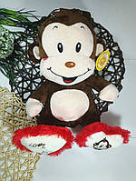 Игрушка детская музыкальная обезьянка