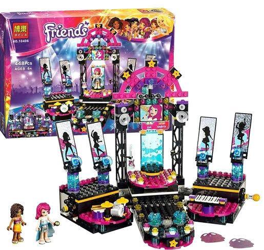 "Конструктор Bela Friends 10406 (Аналог Lego Friends 41105) ""Сцена поп-звезды"" 448 детали"