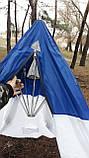 Палатка  3 чел стек флай  полуавтомат, фото 8
