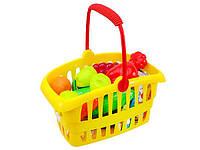Детский набор в корзинке «Супермаркет» ORION (362 в.2) цвет корзины в ассортименте
