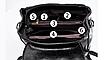Рюкзак женский городской молодежный трансформер Коричневый, фото 4