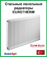 Стальной панельный радиатор  Eurotherm 22k 500*1200 б.п.