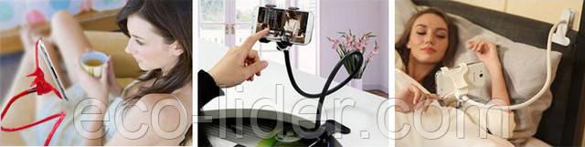Изображение гибкий держатель для телефона