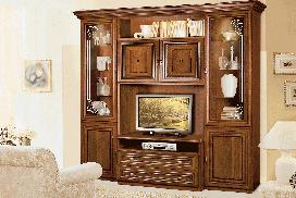 Гостиная Капри с витриной ТВ Скай