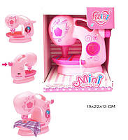 Швейная Игрушечная машинка 738 свет-звук в коробке 19*22*13 см.