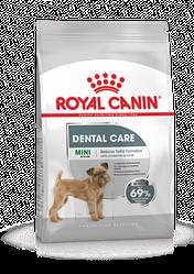 Корм Royal Canin Dental Care Mini для собак мелких пород склонных к образованию зубного камня 1 кг