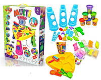 Набор для детского творчества MULTI TABLE | Кинетический песок | Слайм | Тесто