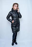 Женская куртка зимняя Fine Baby Cat. Классический черный цвет.