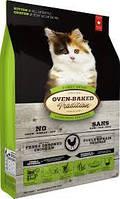Сухой корм Bio Biscuit Oven-Baked Tradition сбалансированный корм для котят со свежим мясом курицы 1.13 кг
