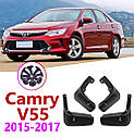 Брызговики MGC TOYOTA Camry V55, XV55 2015-2017 г.в. комплект 4 шт PZ416-V3961-00, фото 3