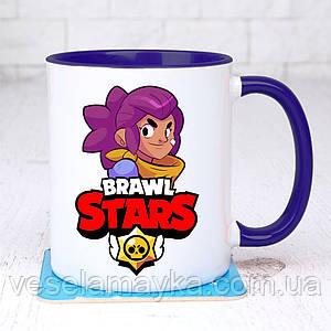 Чашка Brawl stars Shelly