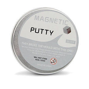 Умный магнитный пластилин Magnetic Putty - Серый