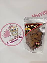 Печиво Lasun кісточки зі смаком бісквіта для собак 120г