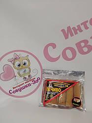 Печиво Lasun Sticks паличка з апетитною начинкою зі смаком бісквіт для собак 70г
