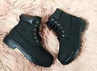 40 р. Ботинки женские деми черные на низком ходу, низкий ход, демисезонные, фото 1