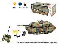 Танк радиоуправление р/у аккумулятор 516-10A (516-10) пульт на батарейках , в кор. 45*21*17 см.