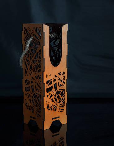 Подарочная упаковка для ножа из дерева № 5 (315х100х4мм), фото 2