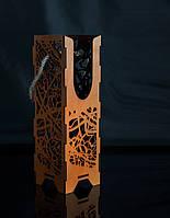 Подарочная упаковка для ножа из дерева № 5 (315х100х4мм)