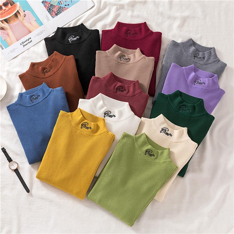 Универсальный свитер с горлом 42-44 (в расцветках)
