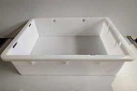 Пластиковый контейнер для продуктов Полимерцентр 530х400х130мм б/у