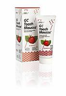 Tooth mousse Оригинал Клубника ( тусс мусс) - крем для реминерализации зубов, 1 тюбик 40г, фото 1