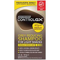 Шампунь против седины для мужчин для светлых, русых, средне-каштановых волос Just For Men Control GX