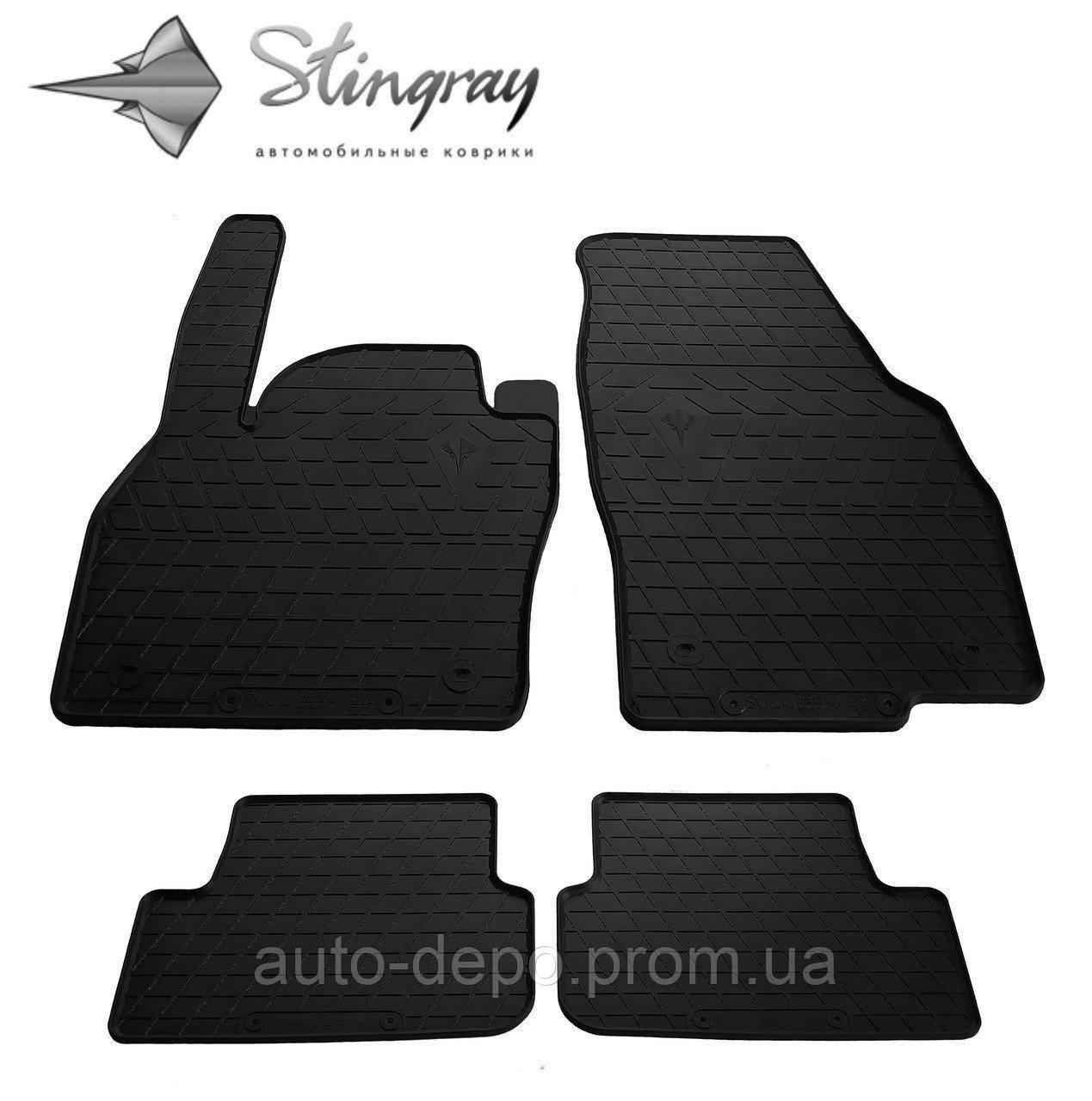 Коврики автомобильные для Volkswagen Polo Hatchback 2017- Stingray