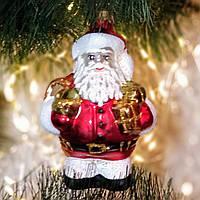 Формовая игрушка из стекла Дед Мороз