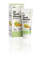 Tooth mousse Дыня, (тус мус) - крем для реминерализации зубов, 1 тюбик 40г