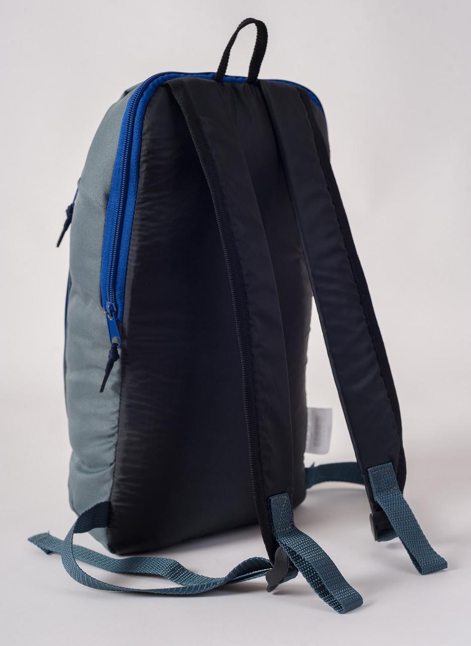 Спортивный рюкзак MAYERS 10L, серый / синяя молния, фото 3