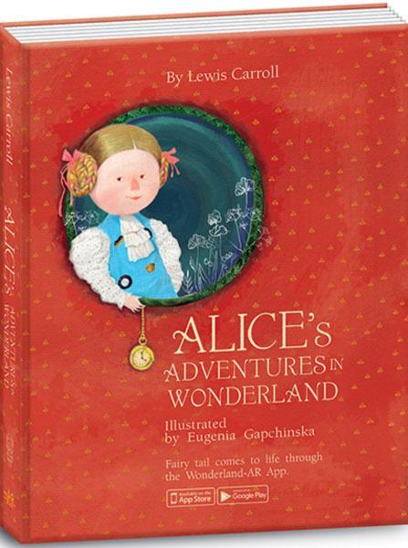 """Книга """"Алиса в Стране Чудес"""" (Eng.) Alice's Adventures in Wonderland"""