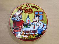 Сувенирная тарелка на подставке