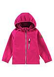 Демисезонная куртка для девочки Reima Softshell Vantti 521569.9-4650. Размеры 92 - 140., фото 4