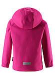 Демисезонная куртка для девочки Reima Softshell Vantti 521569.9-4650. Размеры 92 - 140., фото 3