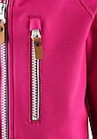Демисезонная куртка для девочки Reima Softshell Vantti 521569.9-4650. Размеры 92 - 140., фото 5