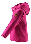 Демисезонная куртка для девочки Reima Softshell Vantti 521569.9-4650. Размеры 92 - 140., фото 2