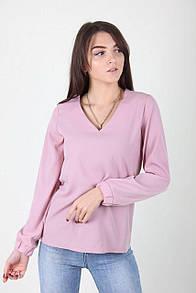 Розовая стильная блузочка