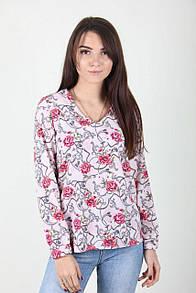 Модная блуза с цветами