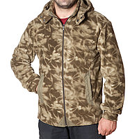Флисовая камуфляжная куртка мужская (размеры S-3XL)