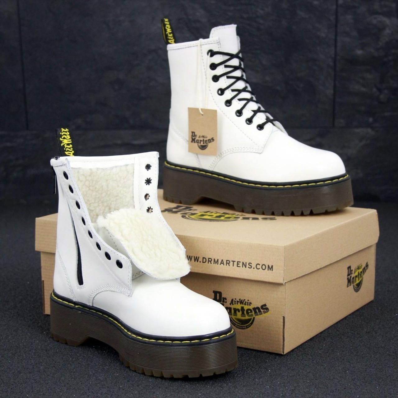 Женские зимние ботинки Dr. Martens Jadon с мехом