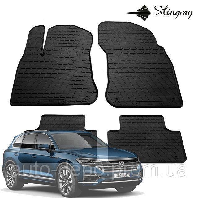 Коврики автомобильные для Volkswagen Touareg 2018- Stingray