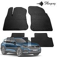 Коврики автомобильные для Volkswagen Touareg 2018- Stingray, фото 1