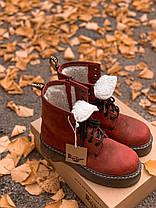 Женские зимние ботинки Dr. Martens Jadon с мехом, фото 3
