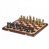 Шахматы Spartan (Спартанцы), 50 см, дерево, фигуры - пластик, Madon 3139