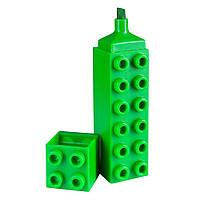 Маркер Brunnen Лего текстовый 3 мм Зеленый