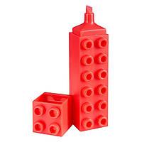 Маркер Brunnen Лего текстовый 3 мм Розовый